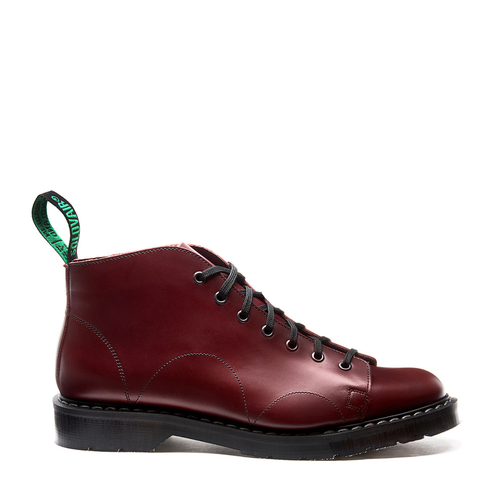 Oxblood Hi-Shine Monkey Boot