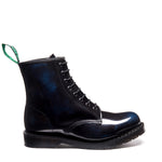 Navy Rub-Off 8 Eye Derby Boot