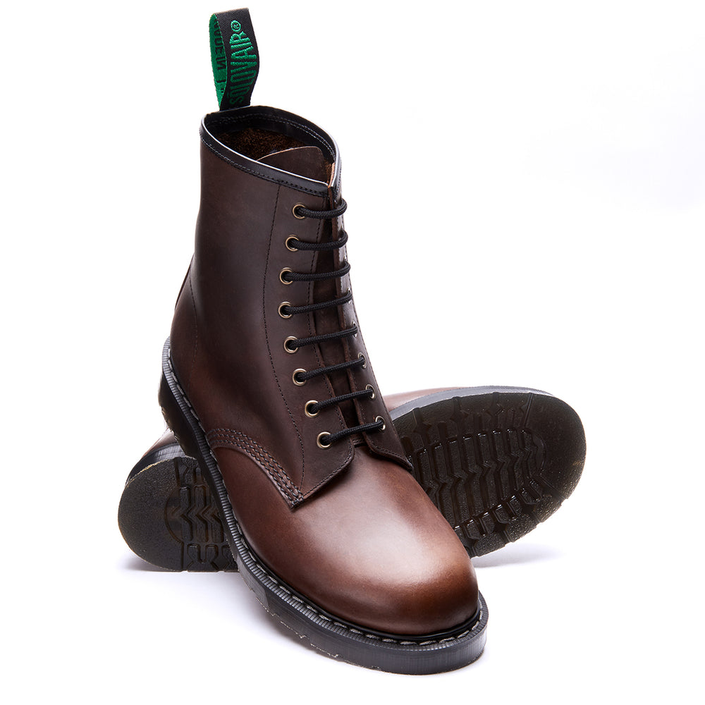 Gaucho Crazy Horse 8 Eye Derby Boot