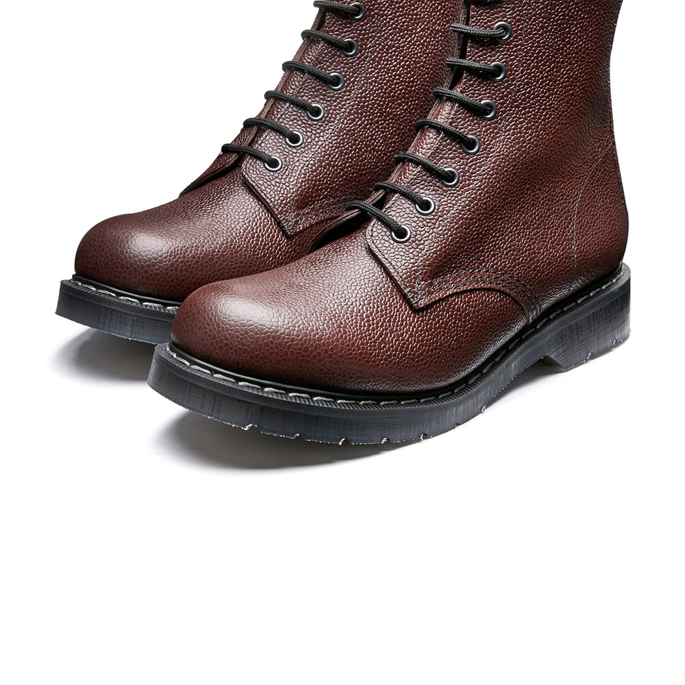 Chilli Scotch Grain 8 Eye Derby Boot