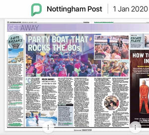 80s Throwback Cruise - Review published in 23 regional papers. 1.1.20