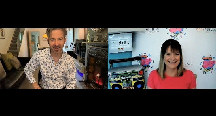 A lockdown zoom chat with LIMAHL