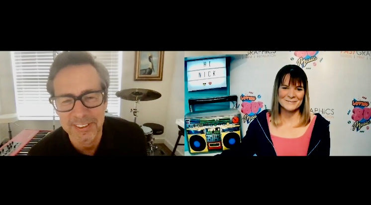 A lockdown zoom chat with Nick Heyward