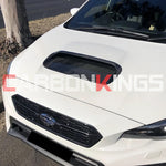 CarbonKings CARBON FIBER HOOD SCOOP REPLACEMENT 2014+ VA WRX STI