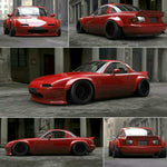 Pandem/Rocket Bunny Style MX-5 (NA) Complete Wide Body Kit Package