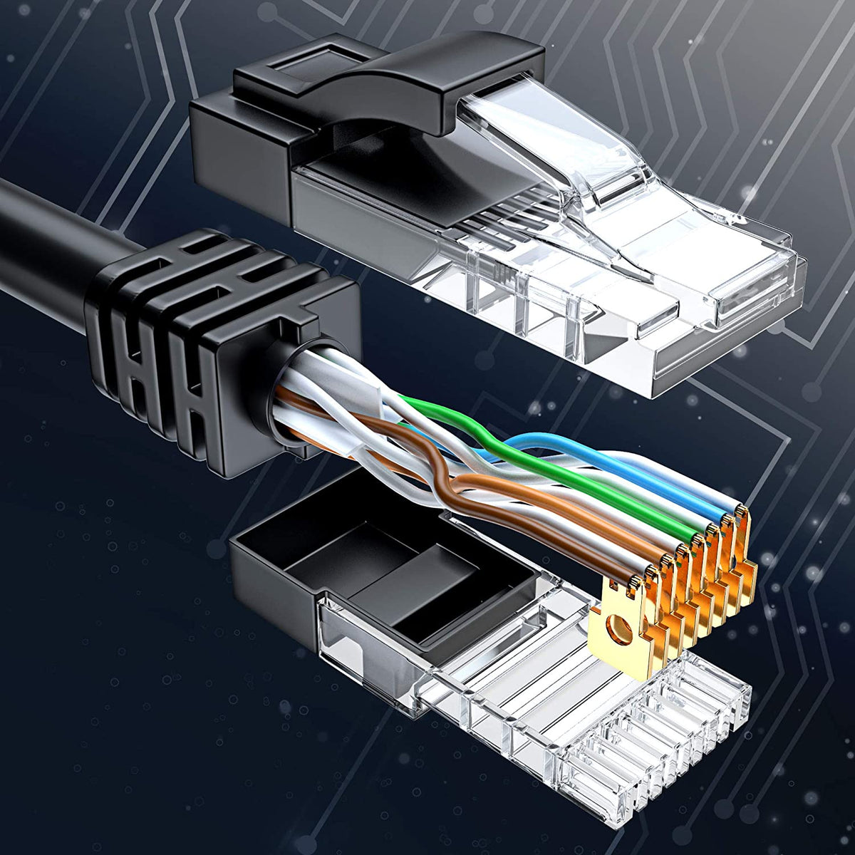 #Color_Black Cat 6 Ethernet Cables