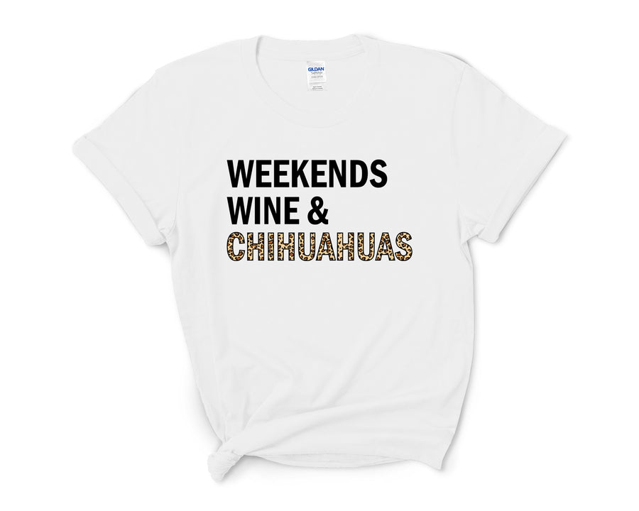 Weekends, Wine, & Chihuahuas