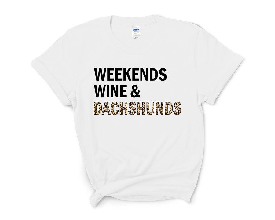 Weekends, Wine, & Dachshunds