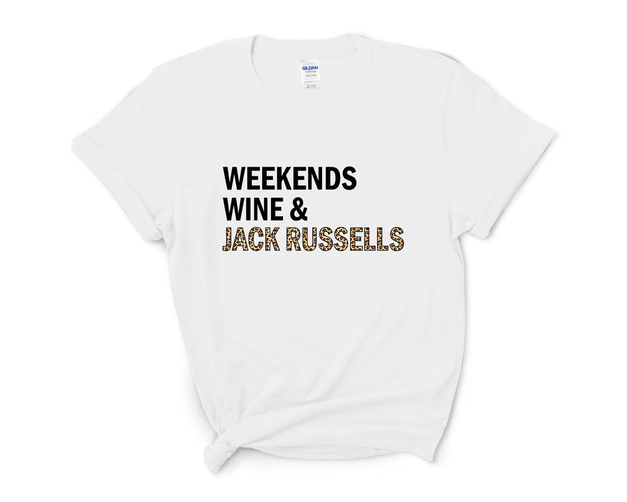 Weekends, Wine, & Jack Russells