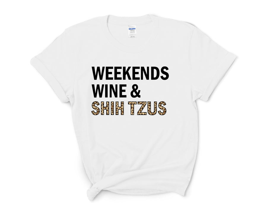 Weekends, Wine, &  Shih Tzus