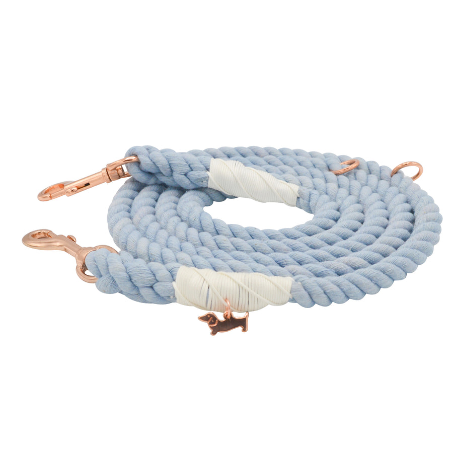 Hands Free Rope Leash - Clouds