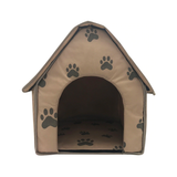 Paw Print Foldable Pet House