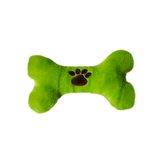 Plush Squeaky Dog Bone