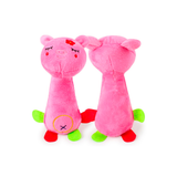 Plush Pig Squeaker Dog Toy