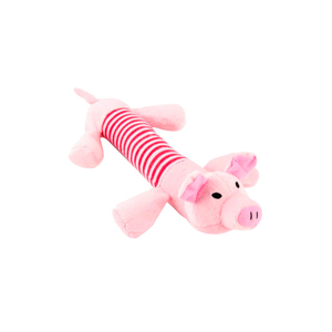 Plush Pig Dog Toy