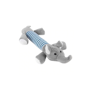 Plush Elephant Dog Toy