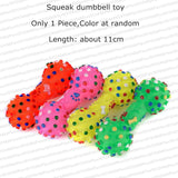Various Rubber Squeaky Dog Toys