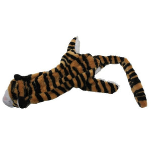 Lion, Tiger, and Leopard Plush Squeaky Dog Toys