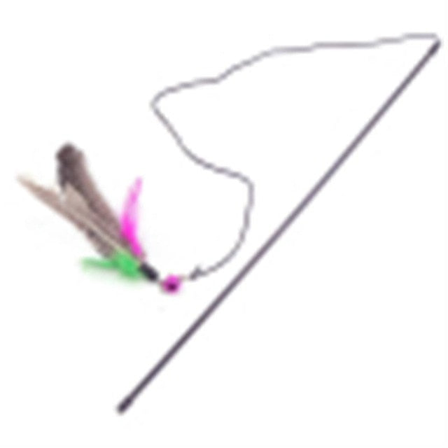 Various Feather Cat Toys