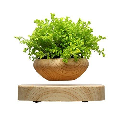 MAGNETIC LEVITATING FLOATING PLANT POT