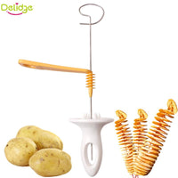 POTATO CHIPS SPIRAL CUTTER