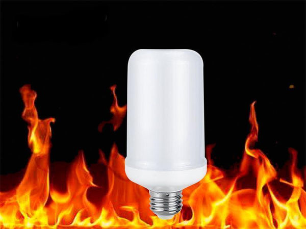 LED Flame Effect Fire Light Bulb Lamp