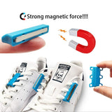 Magnetic Shoelaces Closures