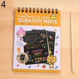 Scratch-Off Magic Rainbow Notebook