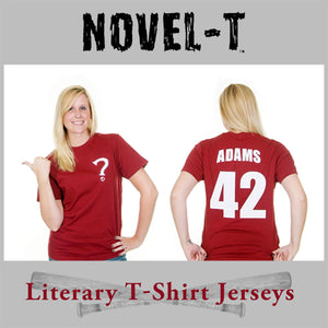 25% OFF All Novel-T Literary T-Shirt Jerseys & Totes! Cyber Monday Sale
