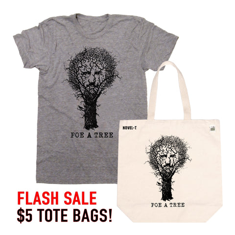$5 Poe A Tree Tote Flash Sale!