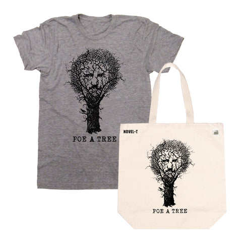 Poe A Tree Tees & Tote Bags Back IN STOCK