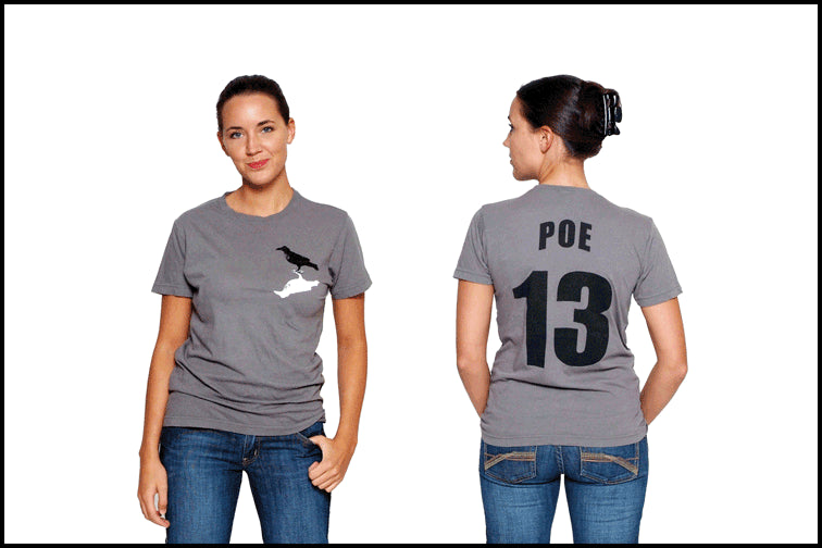 "Edgar Allan Poe ""The Raven"" T-shirt"