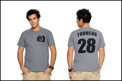 Henry David Thoreau t-shirt from Novel-T
