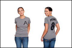 Hester Prynne Novel-T T-Shirt Jersey The Scarlet Letter Tee