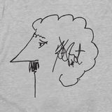 Kurt Vonnegut Self-Portrait T-Shirt