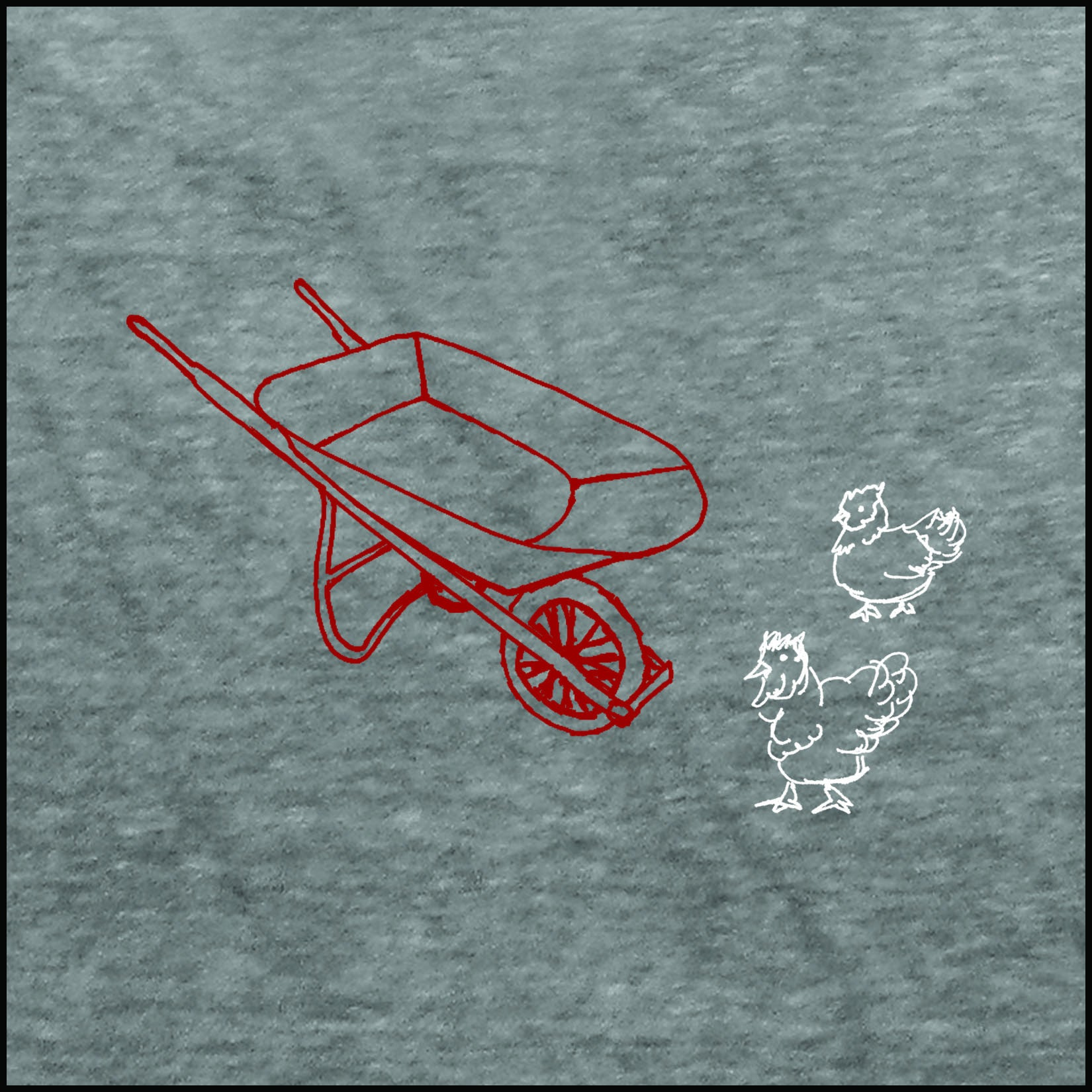 William Carlos Williams Red Wheelbarrow T-Shirt