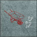 Red Wheelbarrow T-Shirt