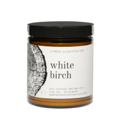 White Birch Soy Candle CYPRESS | EUCALYPTUS | PINE