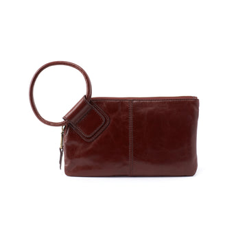 Hobo Sable Wristlet in Chocolate