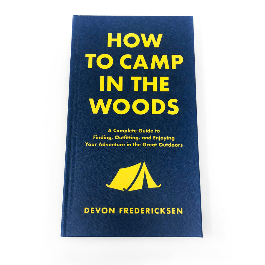 How to Camp in the Woods Book