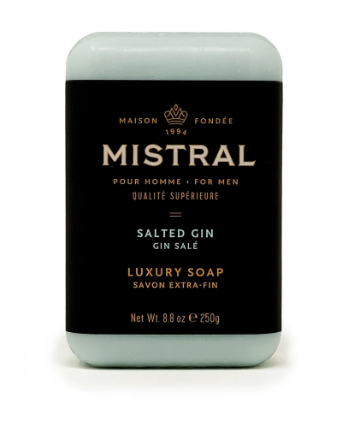 Salted Gin Men's Soap