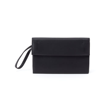 Hobo Fuse Leather Wristlet Clutch