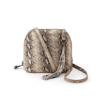 Hobo Nash Crossbody in Glam Snake