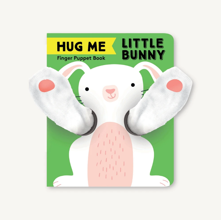 Hug Me Little Bunny Finger Puppet Book