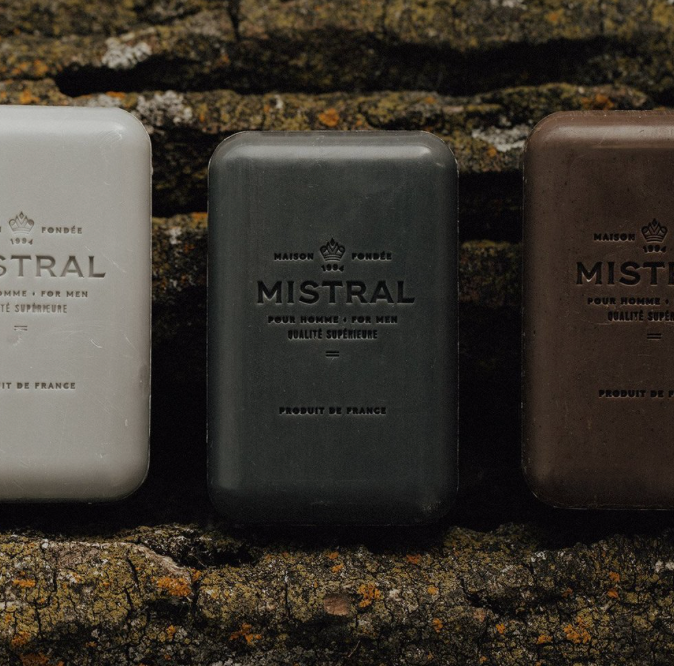 Mistral Men's Soap Teak Wood