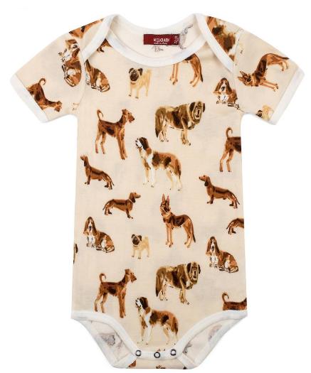 Dog Print One Piece