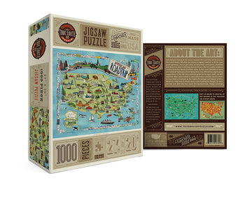 American Road Trip 1000 Jigsaw Puzzle