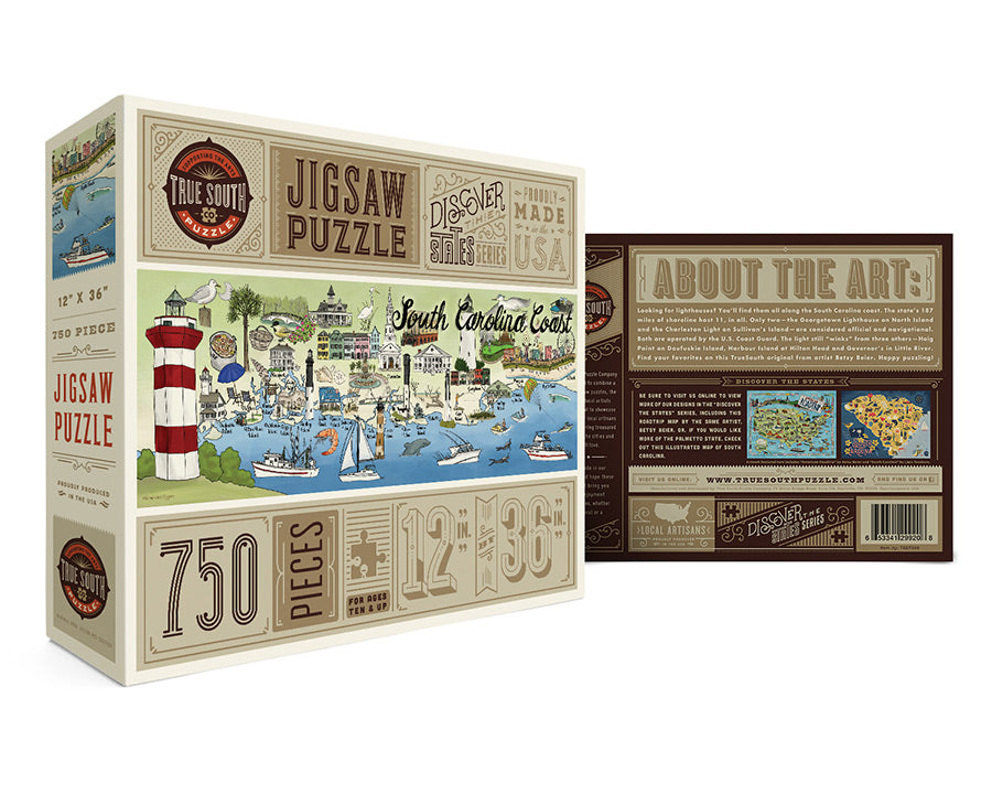 South Carolina Coast 750 Piece Jigsaw Puzzle