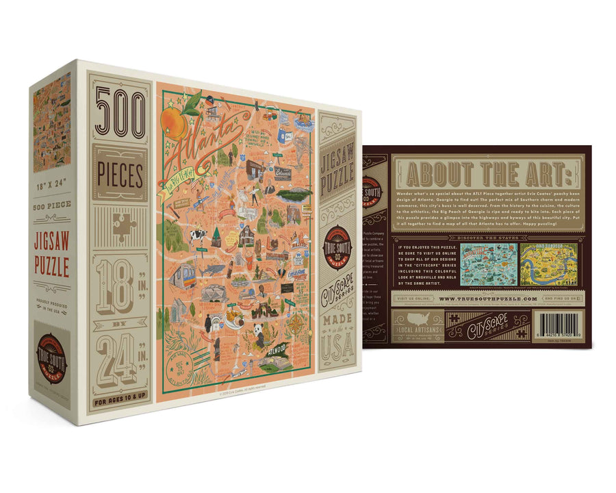 Atlanta 500 Piece Jigsaw Puzzle