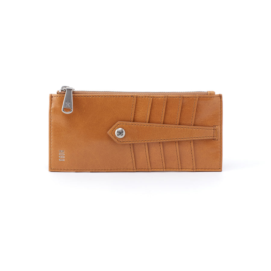 Hobo Linn Leather Credit Card Wallet